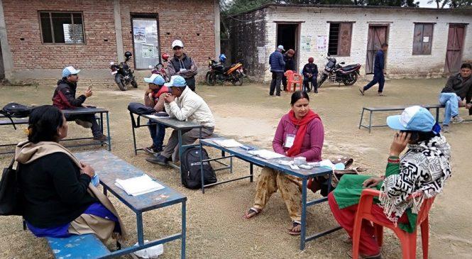 बाँकेमा निर्वाचनको तयारी सकियो