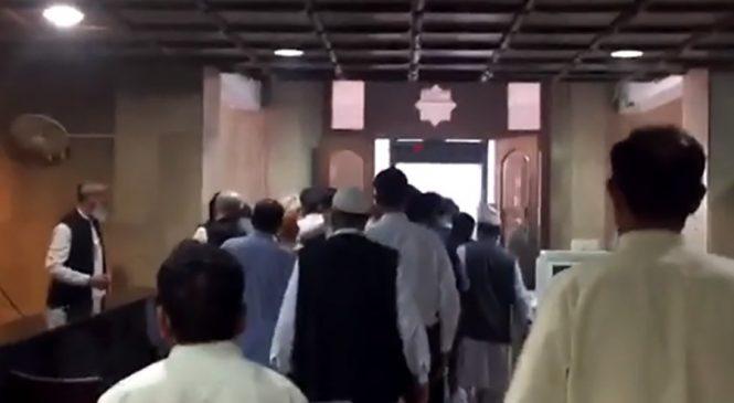 पाकिस्तानी प्रधानमन्त्रीको कार्यालयमा आगलागी