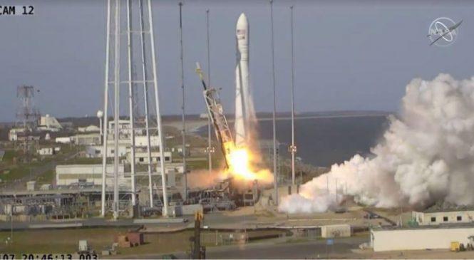 नेपाली स्याटेलाइट पहिलो पटक अन्तरिक्षमा प्रक्षेपण