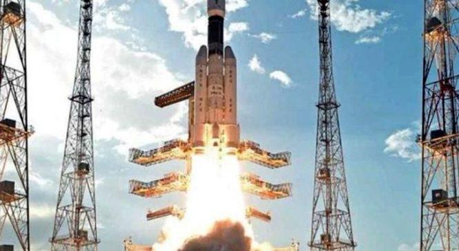 भारतद्वारा चन्द्रयान दुईको सफल प्रक्षेपण