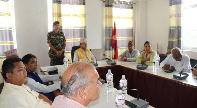 नेपालगञ्जमा विश्वविद्यालय स्थापनाको लागि डेलिगेशन