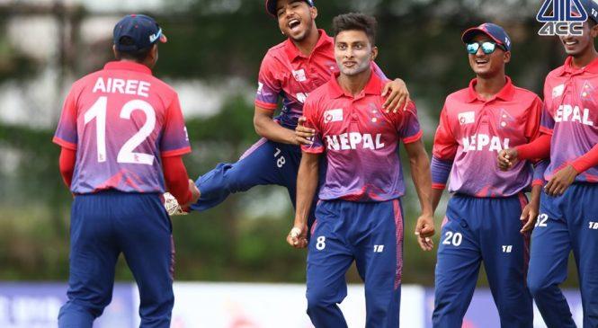 इस्टर्न रिजन क्रिकेटको उपाधिसँगै नेपाल एशिया कपमा छनोट