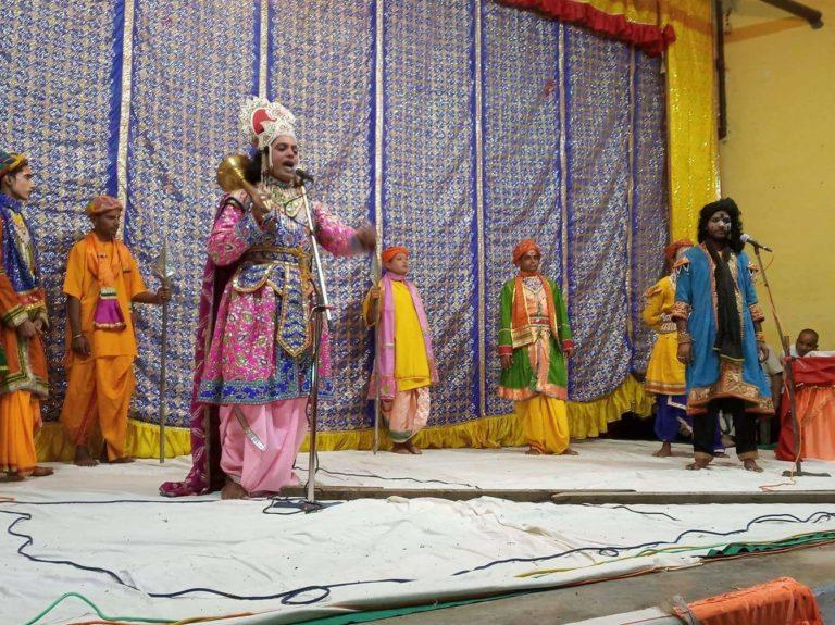 दशैंका अवसरमा नेपालगञ्जमा रामलीला शुरु