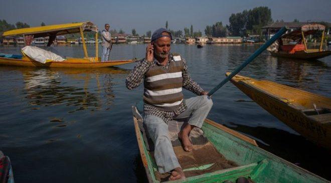 कश्मीरमा ७२ दिनपछि मोबाइल सेवा शुरु