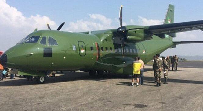 नेपाली सेनाले भित्र्यायो नयाँ विमान