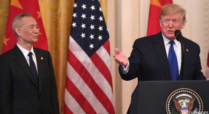 व्यापार युद्धलाई खुकुलो बनाउन अमेरिका–चीनबीच सहमति