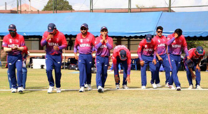 वर्षाका कारण नेपाल र सिङ्गापुरबीचको खेल रद्द
