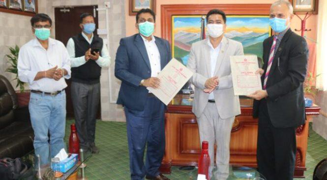कर्णाली प्रदेश र मध्यपश्चिम विवि बीच छात्रबृत्ति सम्झौतामा हस्ताक्षर
