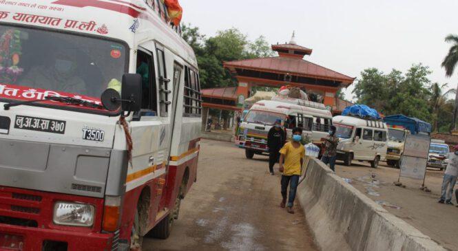 यात्रु लिन रुपईडिहानै पुग्छन् नेपाली सवारी साधन