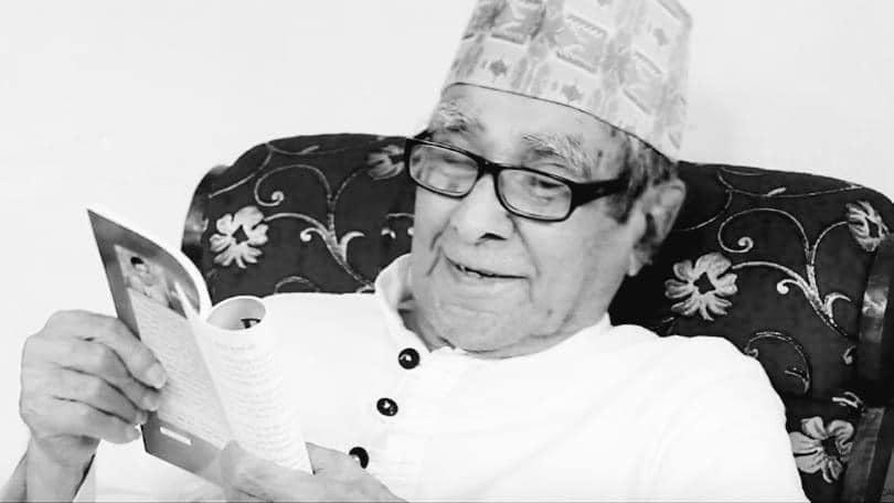 राष्ट्रकवी घिमिरेको १०१ वर्षको उमेरमा निधन