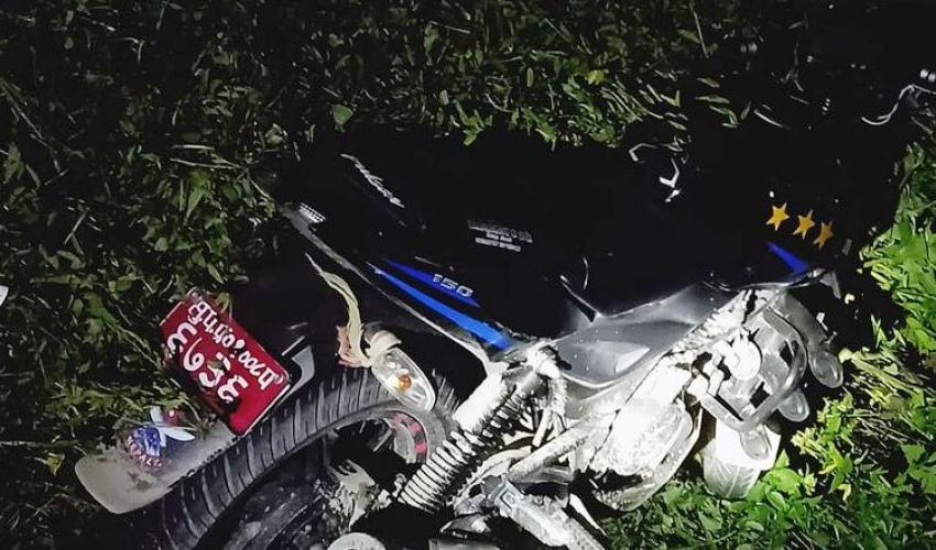 मोटरसाइकलको ठक्करबाट महिलाको मृत्यु
