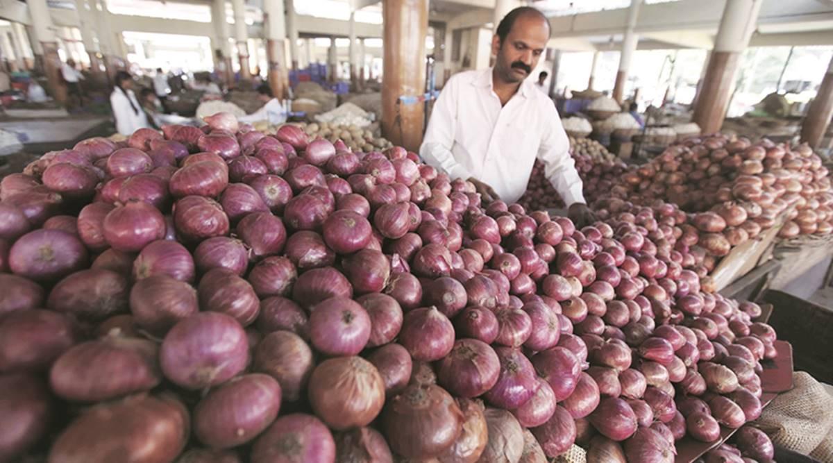 भारतद्वारा प्याज निर्यातमा प्रतिबन्ध