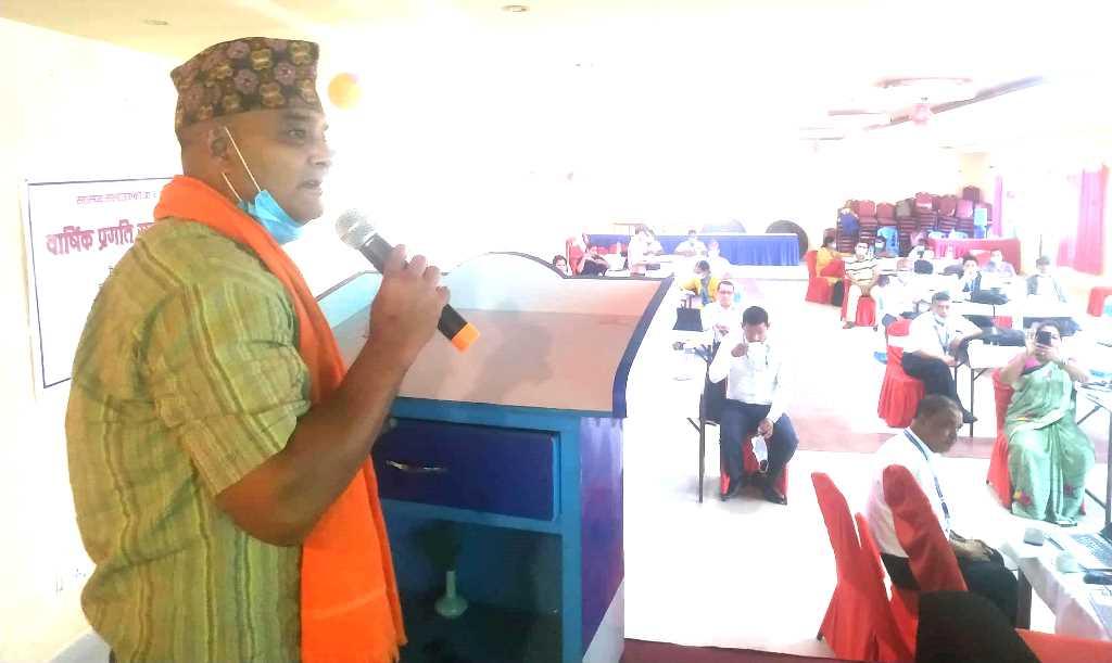 मेयर राणाद्वारा स्वास्थ्यकर्मीको प्रशंसा