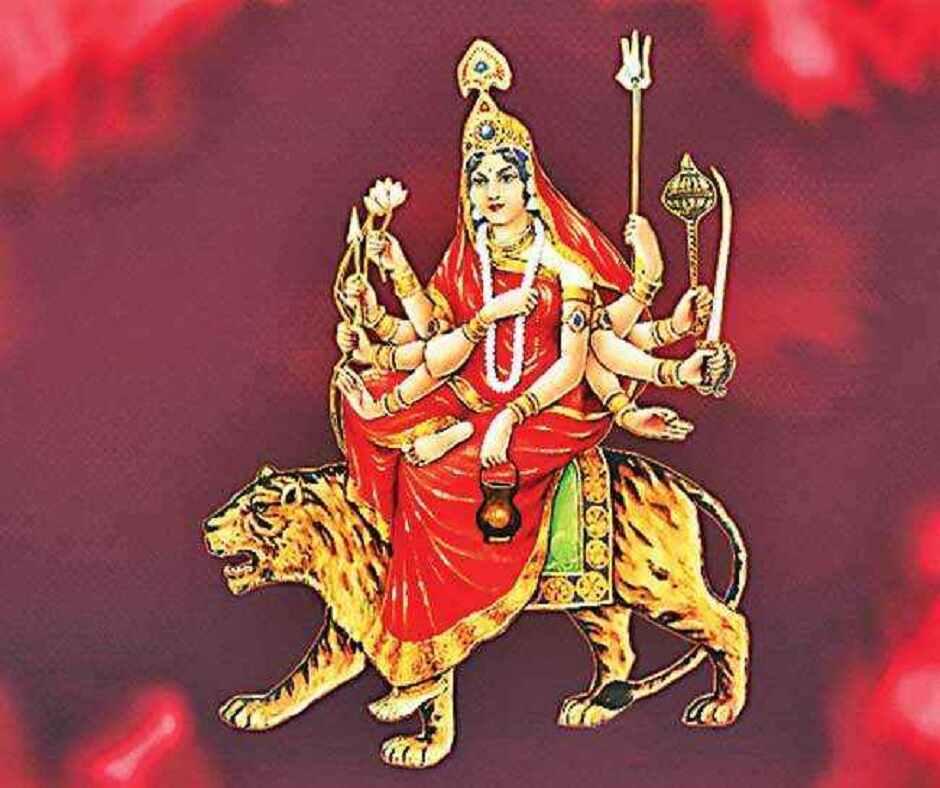 सोमवार माँ चन्द्रघण्टा देवीको पूजा गरिँदै