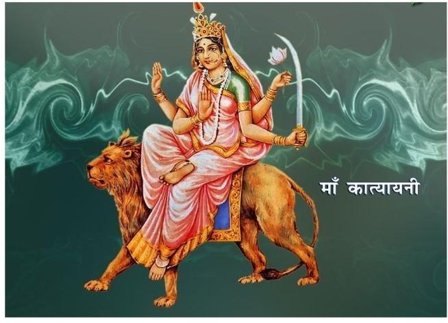 नवरात्रको छैठौं दिन कात्यायनीको पूजा गरिँदै