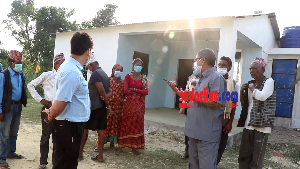 कोहलपुर नगरपालिकाद्वारा गन्धर्व परिवारका लागि एकीकृत गन्धर्व बस्ती निर्माण