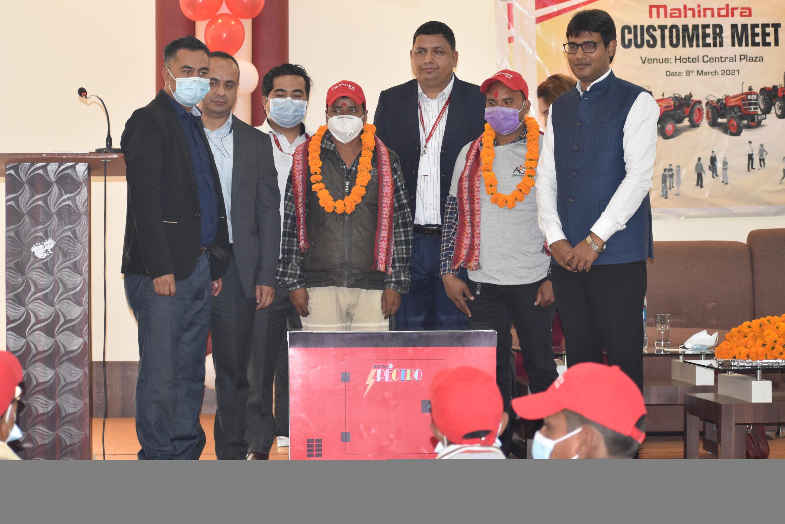 महिन्द्रा ट्रयाक्टर उत्सव योजना नेपालगञ्जका निरन्जना र रामबहादुरलाई