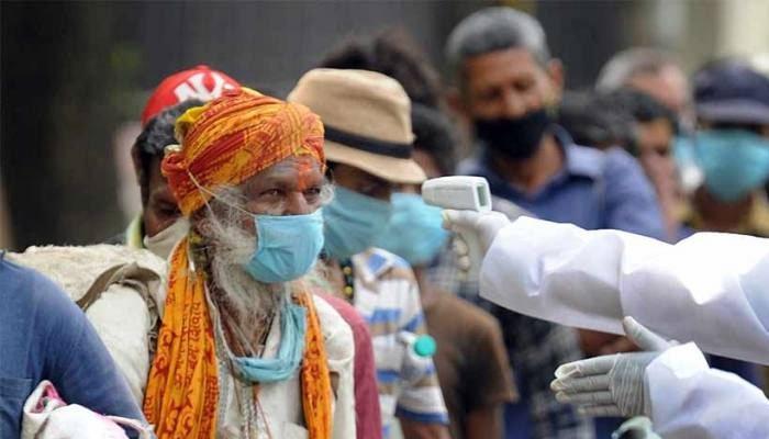 भारतमा नयाँ संक्रमितको संख्या घट्दै