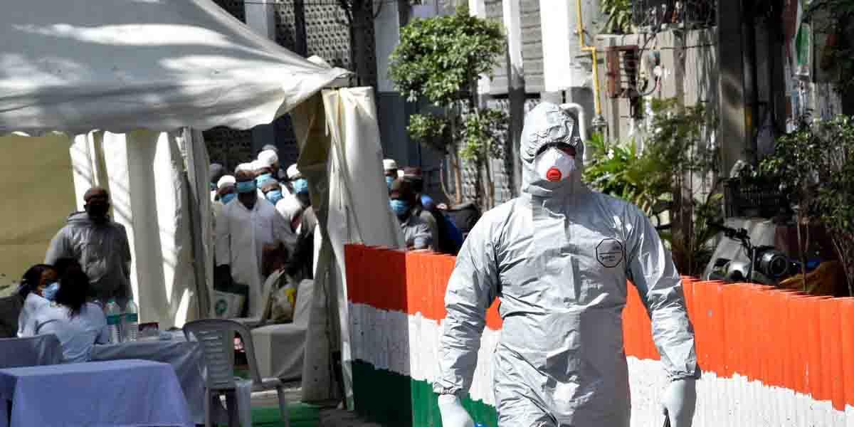 भारतमा संक्रमण दर घट्दै