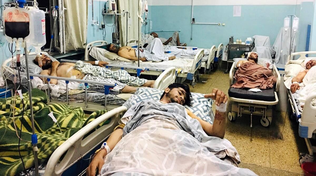 काबुल विमानस्थलमा विस्फोट हुँदा ६० जनाको मृत्यु