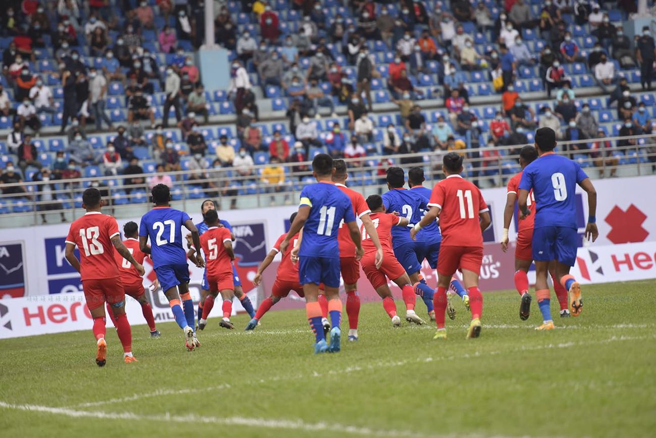 दोस्रो मैत्रीपूर्ण फुटवल २–१ गोल अन्तरले भारतको पोल्टोमा