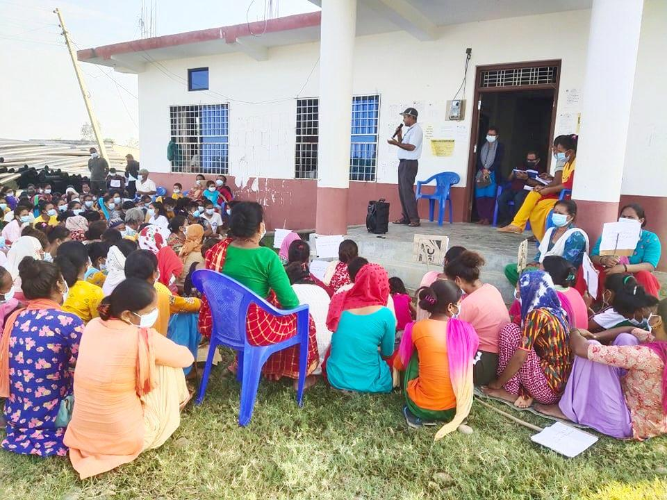 बाँसगढी नगरपालिकामा बालविवाह विरुद्धका गतिबिधिमा जनप्रतिनिधिको चासो