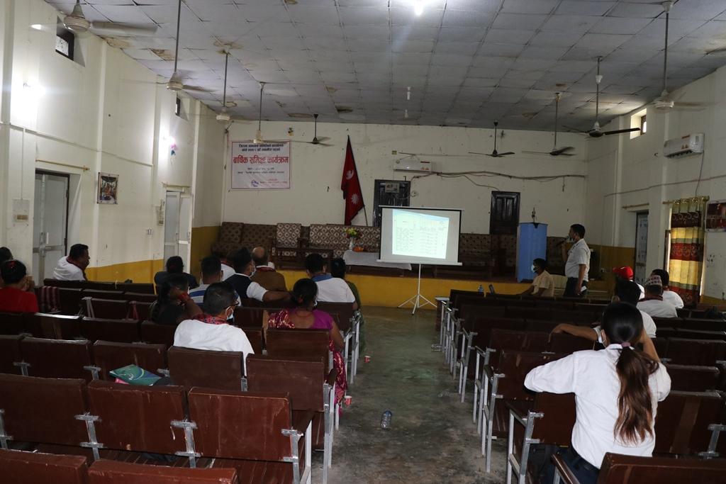 जिल्ला समीक्षा बैठक बाँकेका जनप्रतिनिधिको प्राथामिकता बाहिर