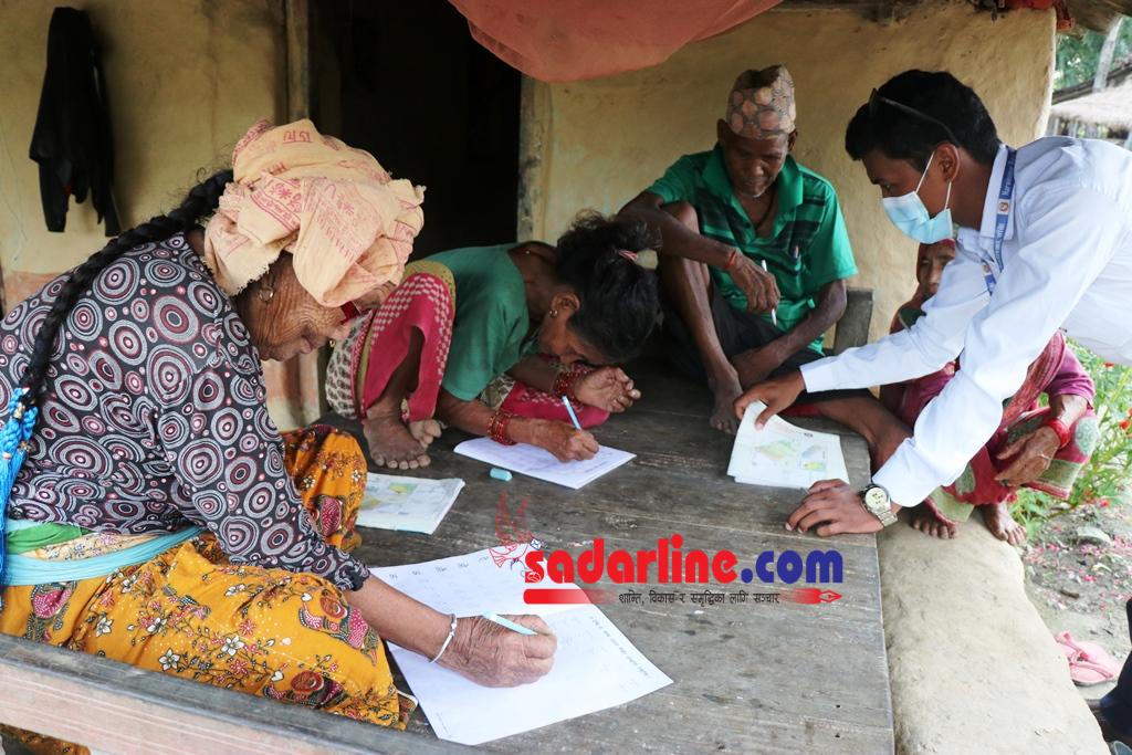 नरैनापुर गाउपालिकामा साक्षरता अभियानले तीब्रता पाउदै